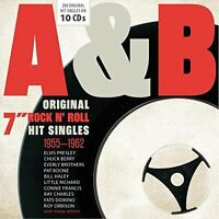 "Various - A&B Original 7"" Rock n' Roll Hit Singles 1955-1962 (2016) 10CD Box NEW"
