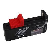 Digital LCD Battery Checker Volt Tester AA/AAA/D/9V 18650 Button Cell 8X6 H-