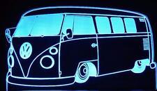 VW KOMBI  60's RETRO  LED - RGB & REMOTE LARGE BAR ROOM NIGHT TABLE LIGHT LAMP