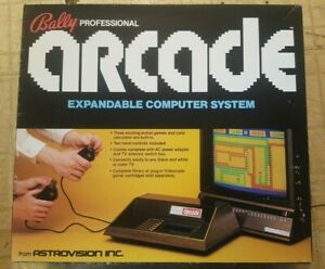 RARE Bally ASTROCADE Game Console w/shipping box -  NMIB - works!