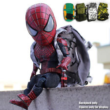 Backpack Accessories Bag For 7'' Egg Attack Amazing Spiderboy Action Figure