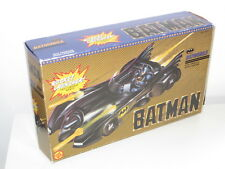 vintage toy biz batman batmobile 1989 movie for figures - near mint boxed