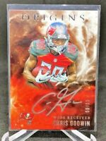 Chris Godwin 2017 Origins Rookie SILVER INK On Card Auto RC Buccaneers /99