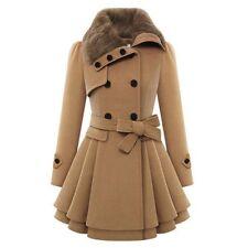 Fashion Women Warm Slim Coat Jacket Thick Parka Overcoat Long Winter Outwear