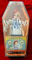 Living Dead Dolls Mezco Series 30 Lydia the Lobster Girl  Factory Sealed