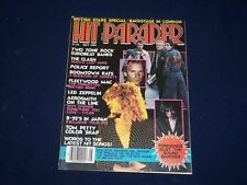1980 MAY HIT PARADER MAGAZINE - THE CLASH, LED ZEPPELIN, STING COVER - SP 9590