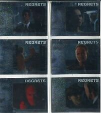 Alias Season 4 Complete Regrets Chase Card Set R1-6
