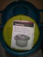 Tupperware Microwave Rice Arroz 4 Cup Maker Steamer Cooker