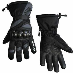 Waterproof Motorcycle Gloves > G-Mac Pilot Evo All Season Thermal - Black/Grey