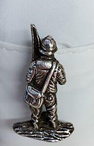 Silver Fishing Man  pin