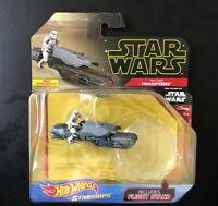 Hot Wheels Star Wars Starships First Order Treadspeeder 1:64 Rise of Skywalker