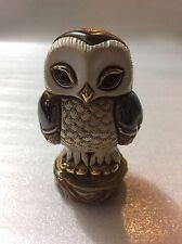 DeRosa Rinconada 1755 Baby Tawny Owl Rincababy Collection Retired New in Box
