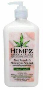 *NEW* Hempz PINK POMELO & HIMALAYAN SEA SALT Fresh Fusions Moisturizer 17oz