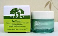 Origins Eye Doctor Moisture Care for skin around the Eyes 15ml - NEW - BOXED