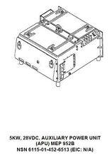 MEP-952B Military Generator Camshaft Assembly 43F Farymann Diesel 721.126.7