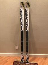 2017 Fischer RC4 WC GS JR 155cm skis with race plate (no bindings) A10016