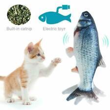 1x Electronic Pet Cat Toy Electric Usb Charging Simulation Pet Dog Cat Fish Toys