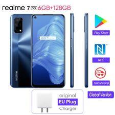 Realme 7 5G 6GB+128GB NFC Dual-Sim Quad Kamera Handy Smartphone Blau