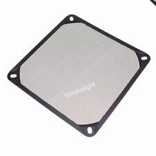 140mm PC Computer Fan Cooling Dustproof Dust Filter Case fr Aluminum Grill Guard