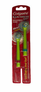 NEW Colgate Actibrush BUZZ Replacement Electric Toothbrush Heads Extra Soft