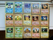 Pokemon Shadowless Base Set Collection