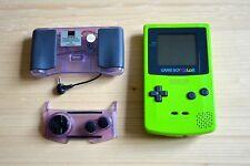 GBC - Nintendo GameBoy Color in Hellgrün mit Zub.