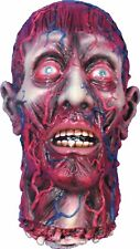 Fake Life Size Latex BLOODY SEVERED SKINNED HEAD Zombie Horror Prop Decoration