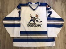 VINTAGE IHL OPTIWEAR PHOENIX ROADRUNNERS HOCKEY JERSEY LARGE DEFUNCT
