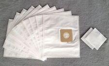 10 Staubsaugerbeutel für Rowenta Compacteo Ergo RO 5265 EA, Filtertüten