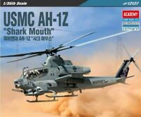 Academy 1/35 Scale USMC AH-1Z Shark Mouth Airplane Toy Kits Military Model 12127