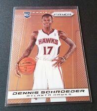Dennis Schroeder #286 Rookie RC 2013 PANINI PRIZM REFRACTOR Card Hawks Schröder