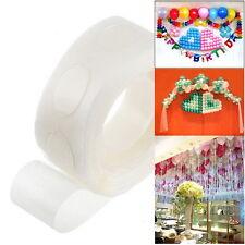 2 Roll 100 Dots Removable Foil Balloon Glue Wedding Birthday Party Decor Sticker