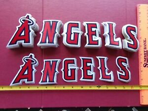 """MLB Los Angeles Angels Full Chest Letters Patches 3"""""""