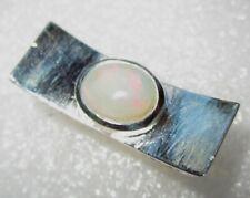 RARITÄT Ring Natur Opal ECHTER  Kristallopal  Gr17 925 Silber Edelopal massiv