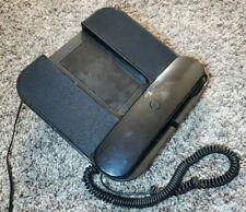 Retro Corded Phone Docking Station For iPhone. Black
