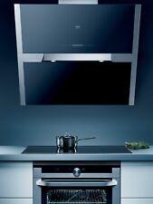 AEG DD9996B 90cm Angled Designer Cooker Hood in Black Glass