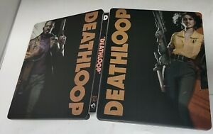 Deathloop custom Steelbook [NO GAME INCL] PS4 PS5 Xbox one series s x