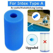 For Intex Type A Reusable Swimming Pool Filter Washable Foam Sponge Cartridge Us
