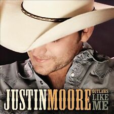 Outlaws Like Me - Justin Moore (CD)