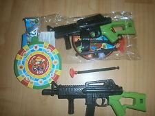 4 Pfeil Machinengewehre 20 cm - Pfeilpistole - Mitgebsel Kindergeburtstag