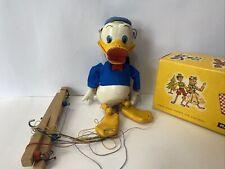 Pelham puppets Donald duck   Walt Disney  original box & instructions