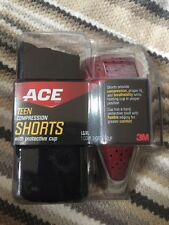 Ace Teen Compression Shorts with Protective Cup Lg/Xl