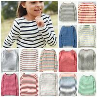 Ex Mini Boden UNISEX Long Sleeve Breton Tops Age 1 2 3 4 5 6 7 8 9 10 11 12Yrs