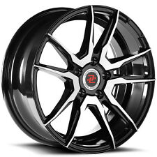 4-NEW Drag Concepts R29 17x7 5x114.3 +35mm Black/Machined Wheels Rims
