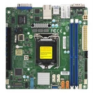Supermicro Mbd-X11Scl-If-B X11Scl-If C242 Lga1151 2X Ddr4 2666Mhz Ecc Udimm Pch