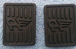 Austin A50 A55 A60 A90 A95 A105 1800 Kimberley Pedal Rubber Pads pair new