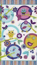 Robert Kaufman Amy Schimler Fly Away Owl Sunset Fabric Panel