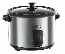 RUSSELL HOBBS 19750 RICE COOKER AND STEAMER 1.8L SILVER *** NEW ***