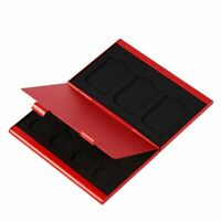 12 slot Metal Aluminum Micro SD TF Memory Card Storage Box Protecter Case Holder