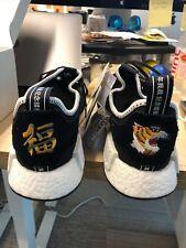 dd19e8789cebb Adidas NMD R1 Invincible x Neighborhood Mens CQ1775 Black White Shoes Size  10